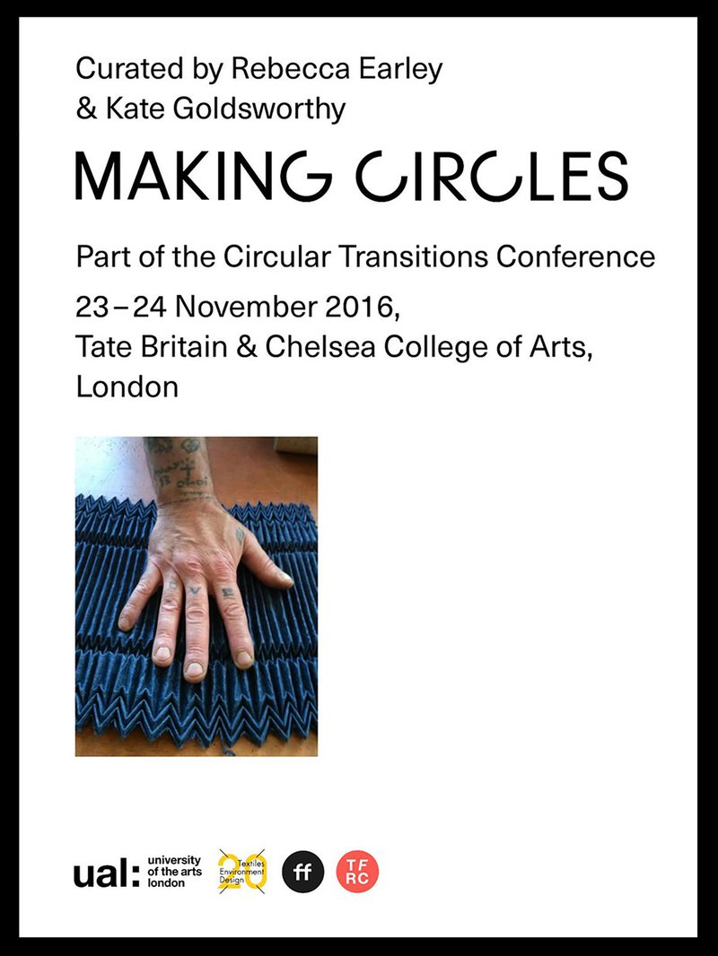 A post advertising 'Making Circles' event