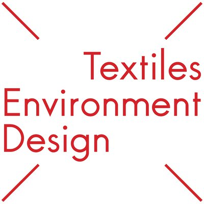 A logo for Textiles Environment Design