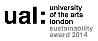 UAL Sustainability Award 2014 logo